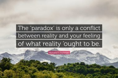 Conflict of Reality